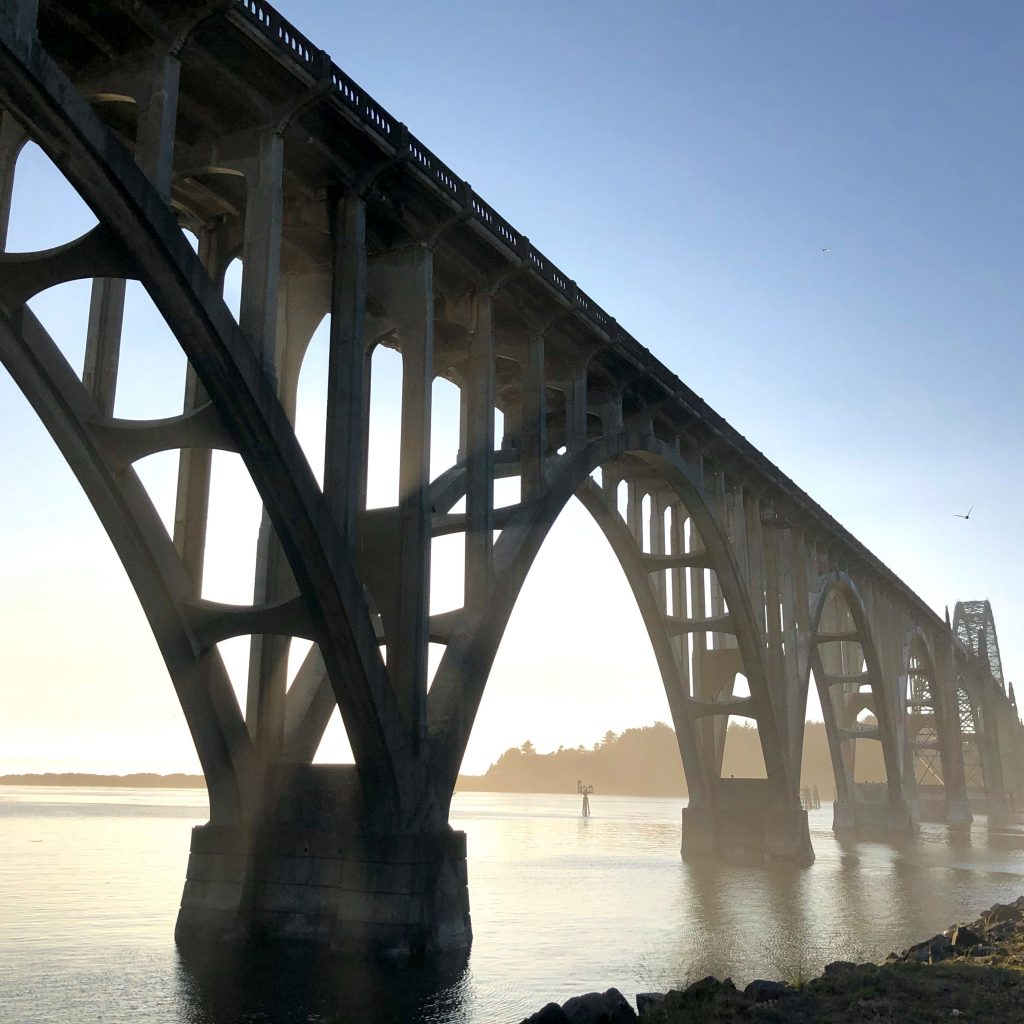 bridge in Newport Oregon