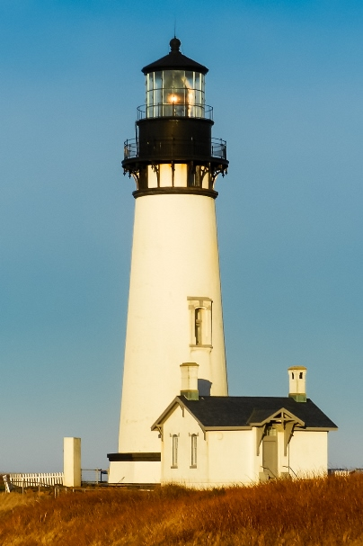 lighthouse in Newport, Oregon